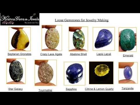 Loose Gemstones for Jewelry Making (Do It Yourself)