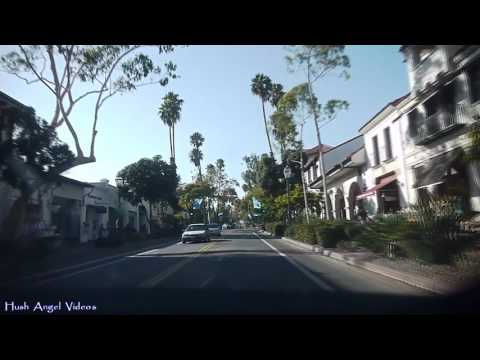 Driving in Santa Barbara