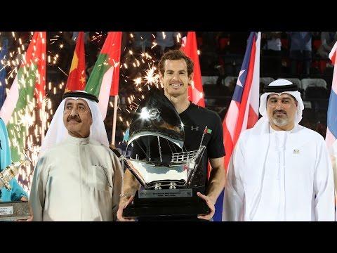 Highlights: Murray Claims Dubai 2017 Crown
