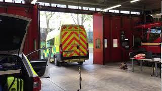 North west ambulance service /fiat ducato/ turnout