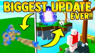 CRYSTAL BOSS & COW UPDATE!! (everything to know) | Roblox islands/Skyblock