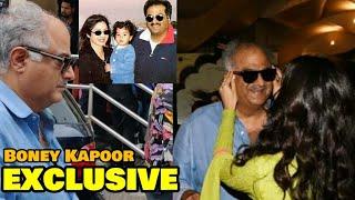 EXCLUSIVE: Boney Kapoor BREAKS DOWN Outside After Daughter Jhanvi Kapoor's Dhadak Trailer Launch