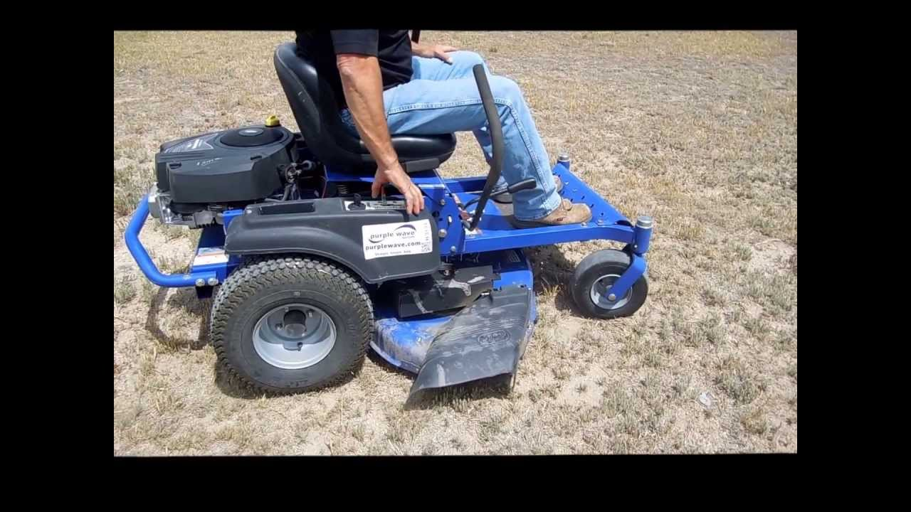 Dixon Sd 42 Ztr Lawn Mower For Sold At Auction June 25 2017