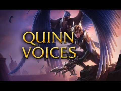 LoL Voices - Quinn - All 17 languages