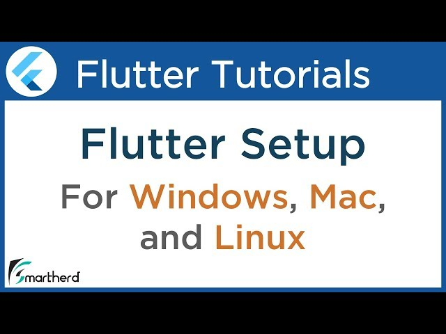 #1.2 Flutter Installation for Windows, Mac OS and Linux ( ubuntu ). Flutter Dart Tutorial