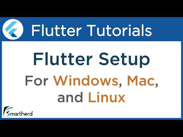 #1.2 Flutter Installation for Windows, Mac OS and Linux ( ubuntu ). Flutter Dart Tutorial