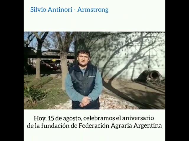 Aniversario de la Federación Agraria Argentina
