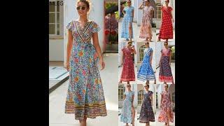 Женская длинная юбка в богемном стиле с принтом для отдыха на лето 2021 купить с Aliexpress