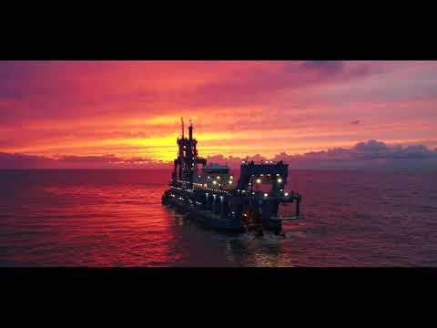 Sea trials of