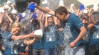 Bloomberg London takes the ALS Ice Bucket Challenge