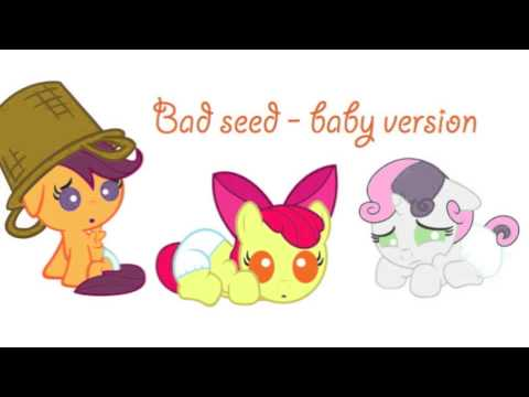 My little pony friendship is magic  Bad seed baby version  YouTube