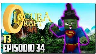 LOCURACRAFT 3 - EP 34   SERIE DE MODS EN MINECRAFT 1.7.10   ¡Vuelve la brujería y las trolleadas!