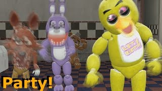 [FNAF SFM] Five Nights at Freddy's: Baby Foxy -  Birthday Party