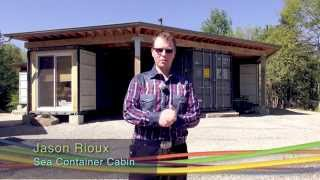 Video 112. The Octopod: A unique off-grid solar powered cottage made out of shipping containers download MP3, 3GP, MP4, WEBM, AVI, FLV Maret 2018