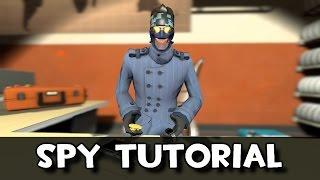 TF2: TUTORIAL DEL SPY #1: Objetivos y Herramientas (Eng sub)