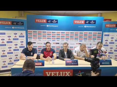 Press-conference. Meshkov Brest - Motor Zaporozhye 33-31