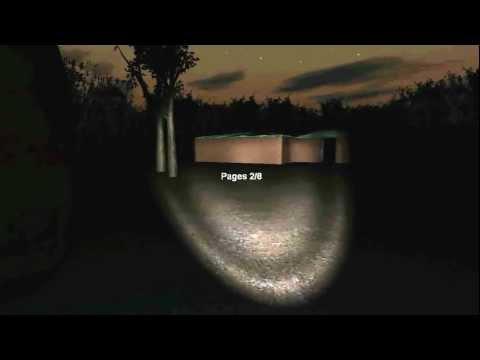 Прохождение игры Slender в Страшном Лесу.