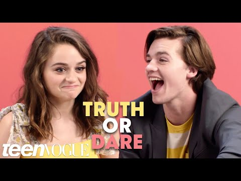 The Kissing Booth Cast Plays Truth or Dare  Teen Vogue