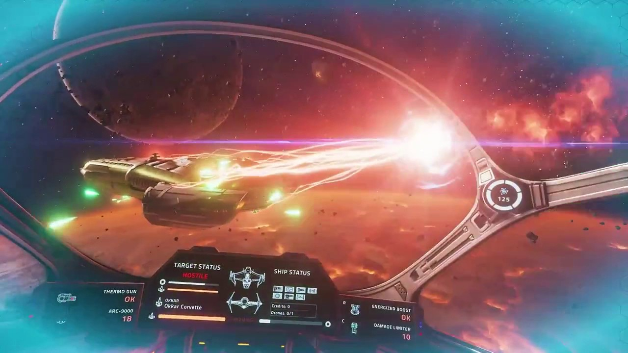Gorgeous Space Combat Game Everspace Finally Gets VR Support