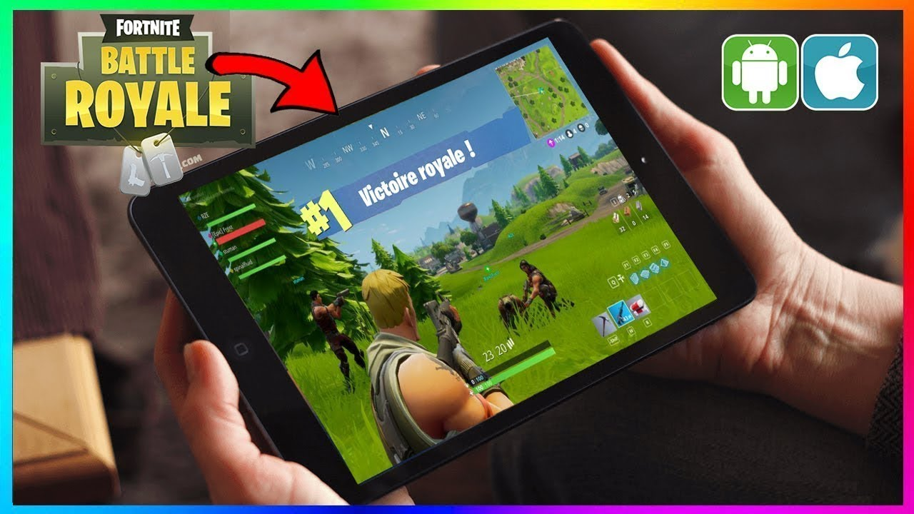 download fortnite mobile on pc