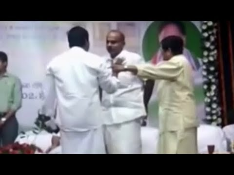 Puducherry: Lt. Governor Kiran Bedi and AIADMK leader caught in a squabble