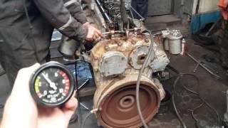 Первый запуск дизеля ЯАЗ-204Г после 25-летнего простоя.(Двигатель 25 лет пролежал в гараже. Заводили только на заводе. Нам он попал с заклинившей ЦПГ , топливным..., 2015-09-29T17:06:52.000Z)