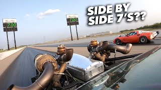 Leroy & Ruby try SIDE BY SIDE 7's!! (RaceWeek | Day 5 )