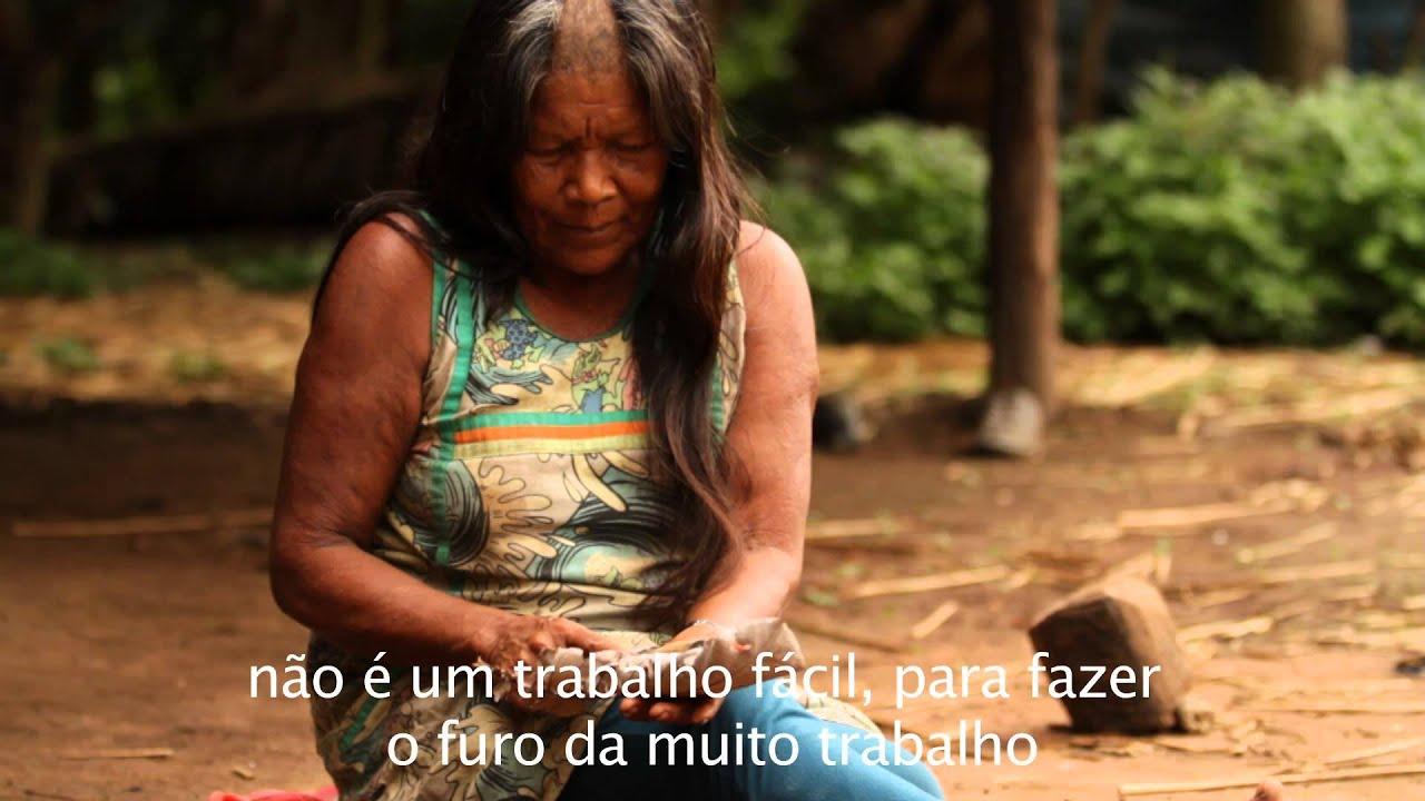 Patricia Barros Artesanato ~ Serie Artesanato Kayapó Waricoco YouTube