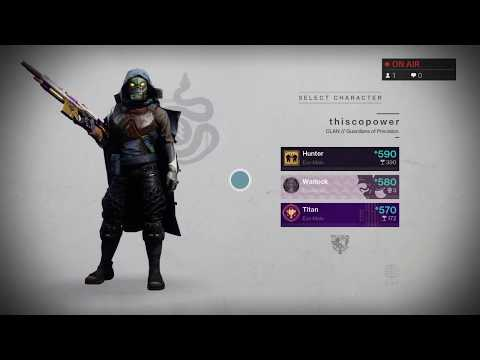 Destiny 2 / Power LvL Grind (590+) /  Helping Viewers / Sub Goal 700/750 thumbnail