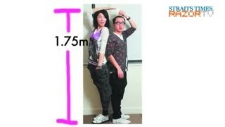 He's 1.62m, his girlfriend is 1.75m (Fortune Buddies Pt 2)