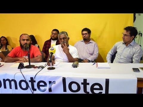 Lamars Disab: Aret kokin nu laplaz veut mobiliser les Mauriciens le 9 décembre