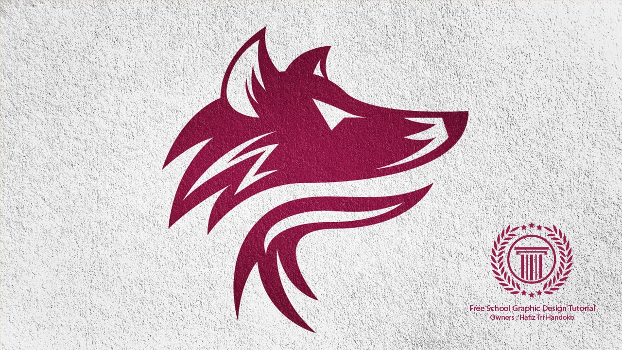 Wolf Logo Design Tutorial  For Beginners
