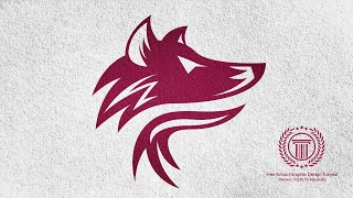 Logo Design Illustrator Tutorial / Fox / Wolves / Wolf Logo Design Tutorial For Beginners