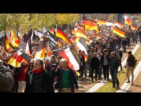 """""""Wir für Deutschland""""-Großdemo Berlin 03.10.18 """"Deutsche müssen stolz sein, dass sie deutsch sind!"""""""