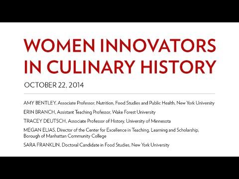 Women Innovators in Culinary History