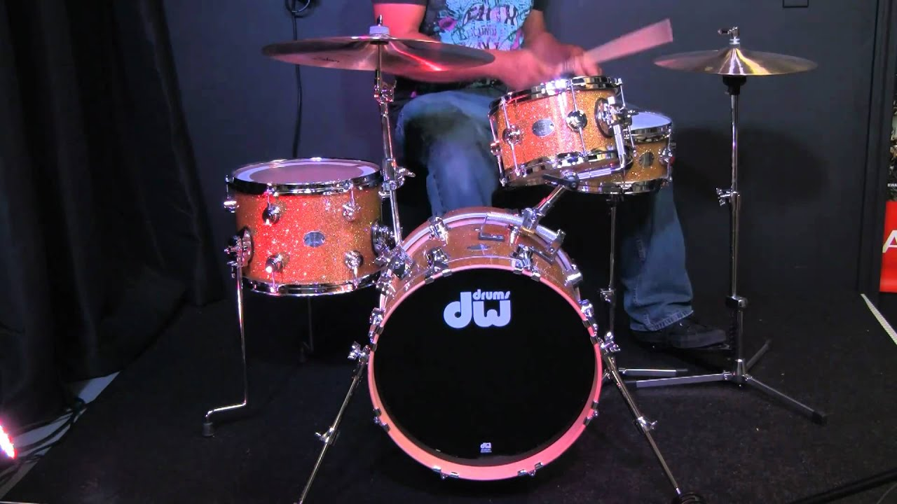 Drum Workshop Mini Pro Kit DW MINIPRO DRUM KIT Video Demo