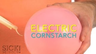 Electric Cornstarch - Sick Science! #194