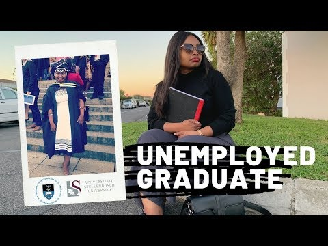 Unemployed Graduate   My Experience