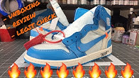 new concept c7009 d9add OFF WHITE UNC JORDAN 1  Unboxing, Legit Check Info   Review! - Duration  10  minutes. Feelgood Threads