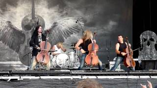 Apocalyptica - Fight Fire With Fire - live in Gothenburg August 12 2009