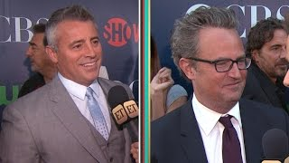 Matt LeBlanc and Matthew Perry Weren't Invited To Jennifer Aniston's Wedding