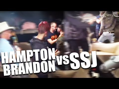 Hampton Brandon Fight SSJ Afterwards Decides to Leave Ice Poseidon's RV