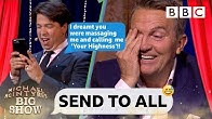 Bradley Walsh DESTROYED 😱 by Michael McIntyre's nightmare text - Send To All