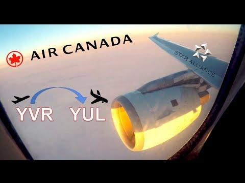 ✈︎ FULL FLIGHT ✈︎ Trans-Canada || Airbus A319 || Vancouver - Montréal - Air Canada