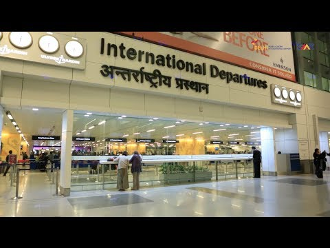 Airport of Smile - IGI Airport - GMR