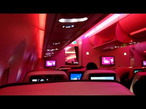 Qatar Airways Airbus A350 - LED Lights