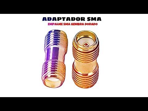 Video de Empalme SMA hembra  Dorado