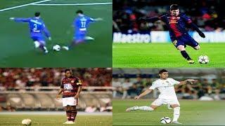 Top 5 Gols De Falta Dos Craques !