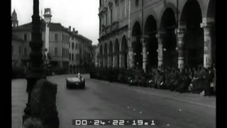 Trionfo di Castellotti nelle Mille miglia