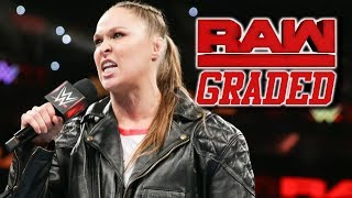 WWE Raw: GRADED (15 October) | Ronda Rousey Buries The Bellas